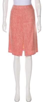 Lanvin A-Line Knee-Length Skirt
