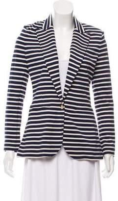 Ralph Lauren Striped Knit Blazer