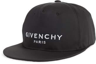 Givenchy Flat Brim Logo Ball Cap
