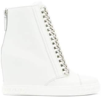 Casadei concealed wedge sneakers