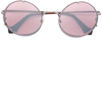 Balenciaga Eyewear round frame sunglasses