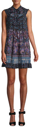 Anna Sui Paisley Shift Dress