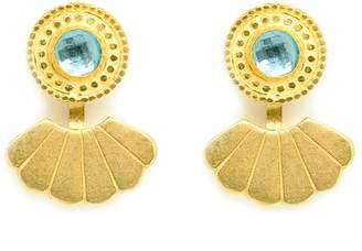Annabelle Lucilla Jewellery - Eye Of The Ocean Shell Ear Jackets