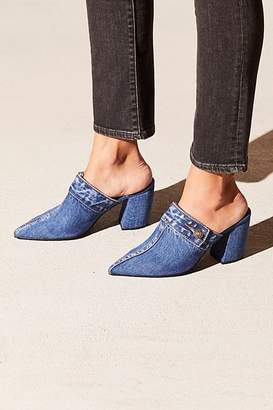 Jeffrey Campbell Faye Denim Mule