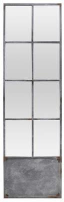BIDKhome Fall Metal 8 Pane Door Mirror