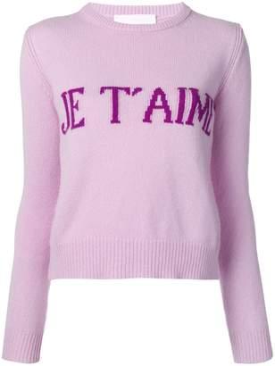 Alberta Ferretti Je T'aime sweater