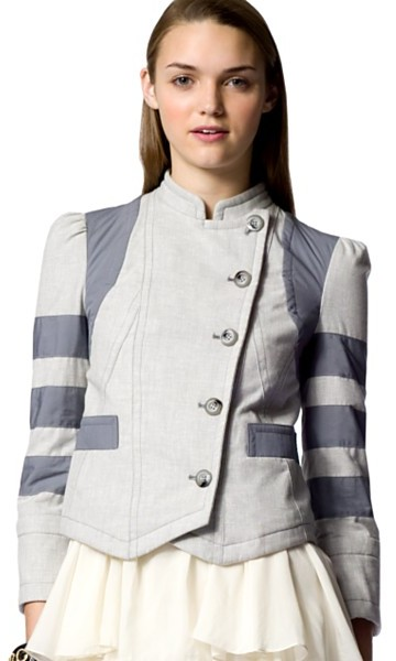 Marc by Marc Jacobs Cascade Crosshatch Jacket