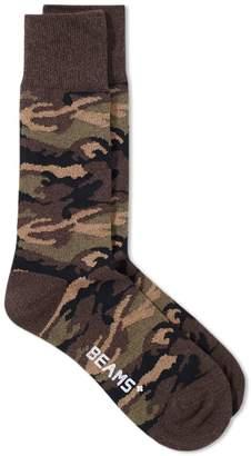 Beams Camo Sock