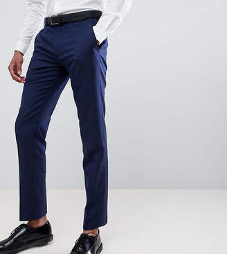 Farah Smart skinny wedding suit pants in linen exclusive