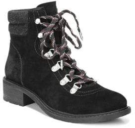 Sam Edelman Darrah Lace-Up Suede Booties