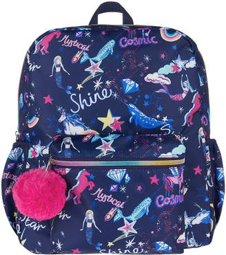 Monsoon Rainbow Unicorn Moon Beam Backpack