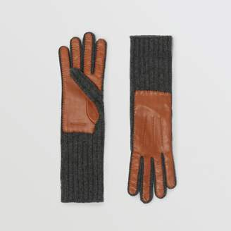 Burberry Cashmere and Lambskin Gloves