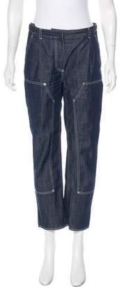 Nina Ricci High-Rise Straight Leg Jeans