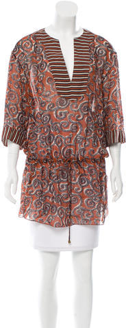 Tory BurchTory Burch Silk Printed Tunic
