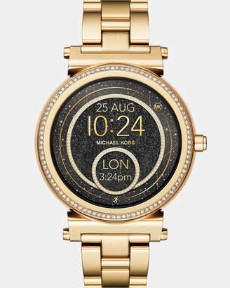 Michael Kors Smartwatch Sofie Gold-Tone