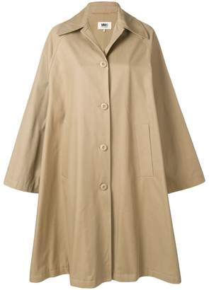 MM6 MAISON MARGIELA oversized swing coat