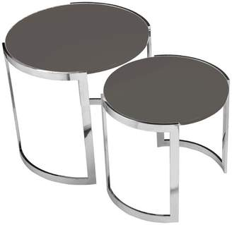 Pangea Home Omni Nesting Side Tables, 2-Piece Set