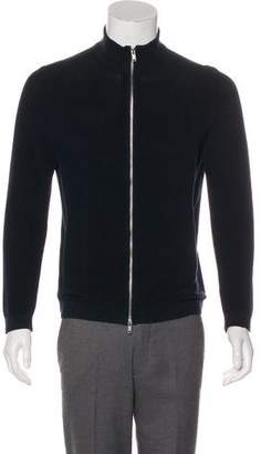 Theory Avell Zip-Up Sweater