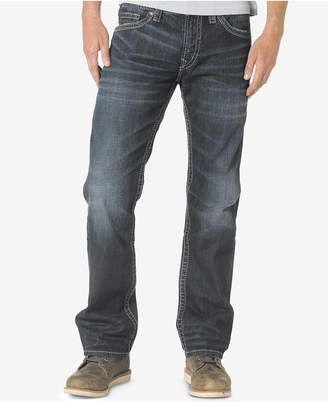 Silver Jeans Co. Men's Nash Classic Fit Straight Jeans