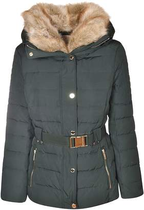 Michael Kors Fur Trim Down Jacket