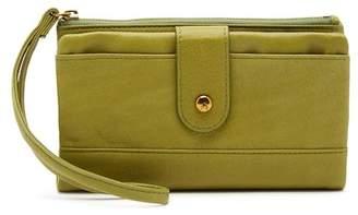 Hobo Colt Leather Wristlet Wallet
