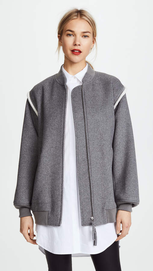 Double Faced Wool Jacket