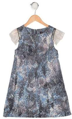 Imoga Printed Embellished Dress w/ Tags