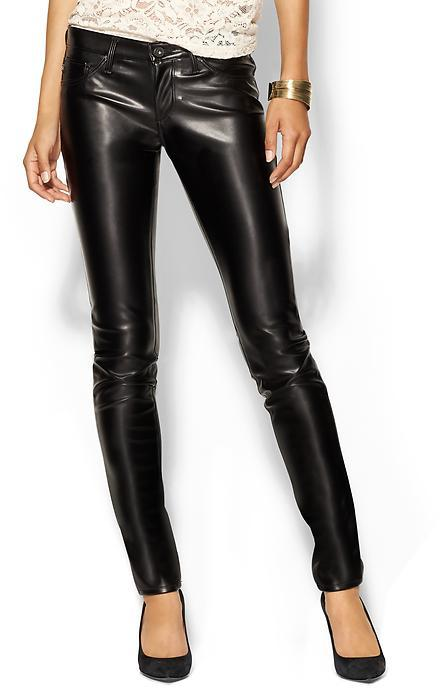 AG Adriano Goldschmied The Vegan Leather Legging