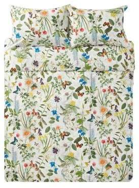 Arabella Boutique By Distinctly Home Three-Piece Cotton Duvet Cover Set