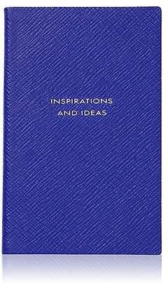 "Smythson Inspirations And Ideas"" Panama Notebook"