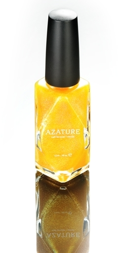 Azature - Black Diamond Nail Polish - Yellow