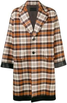Prada Oversized single breasted coat