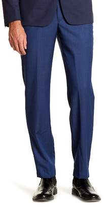 """John Varvatos Collection Graham Flat Front Mid Rise Trousers - 30-34\"""" Inseam"""