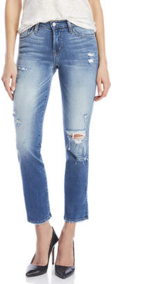 Flying Monkey Mid-Rise Distressed Jeans