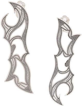 Toga Pulla long earrings