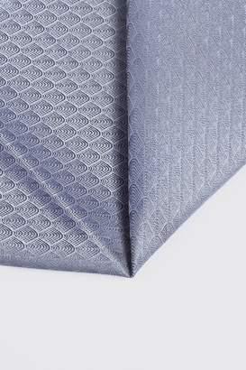 boohoo Wave Pattern Pocket Square