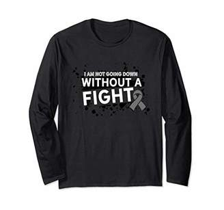 Not Going Down Without A Fight Brain Cancer Shirt