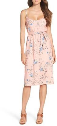 Women's Ali & Jay Flower Frolicking Midi Dress $128 thestylecure.com