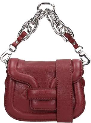 At Italist Pierre Hardy Burgundy Leather Bag
