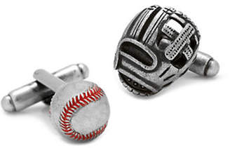 Cufflinks Inc. Baseball and Glove Antique Cufflinks