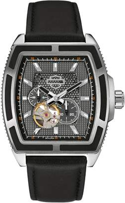 Harley-Davidson Mechanical The Weekend Warrior Collection Leather Strap Chronograph Watch