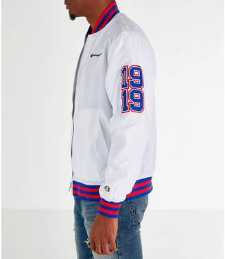 b66d8053 Champion Men's Satin Baseball Jacket