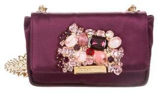 Dolce & Gabbana Satin Embellished Bag