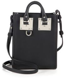 Sophie Hulme Albion Nano Leather Crossbody Bag $495 thestylecure.com