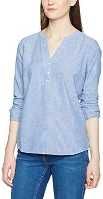 ... Tom Tailor Women s Striped Tunic with Turn-up Blouse,(Manufacturer  Size  S 7a9d9f76b2