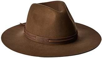 Brixton Men's Perkins Wide Brim Felt Fedora Hat