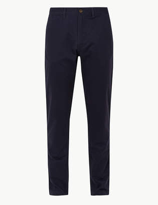 Marks and Spencer Tapered Fit Pure Cotton Chinos with Stormwear