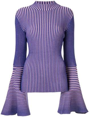 SOLACE London striped knit sweater
