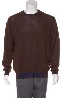 Etro Cashmere-Blend Crew Neck Sweater