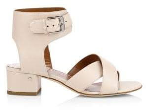 Sandals Women's 7 Teodosia Ankle Dacade Size 37 Strap Laurence Nude Leather 5qYav